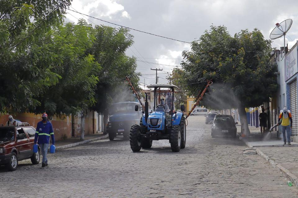 Prefeitura realiza ação de Desinfecção em Puxinanã