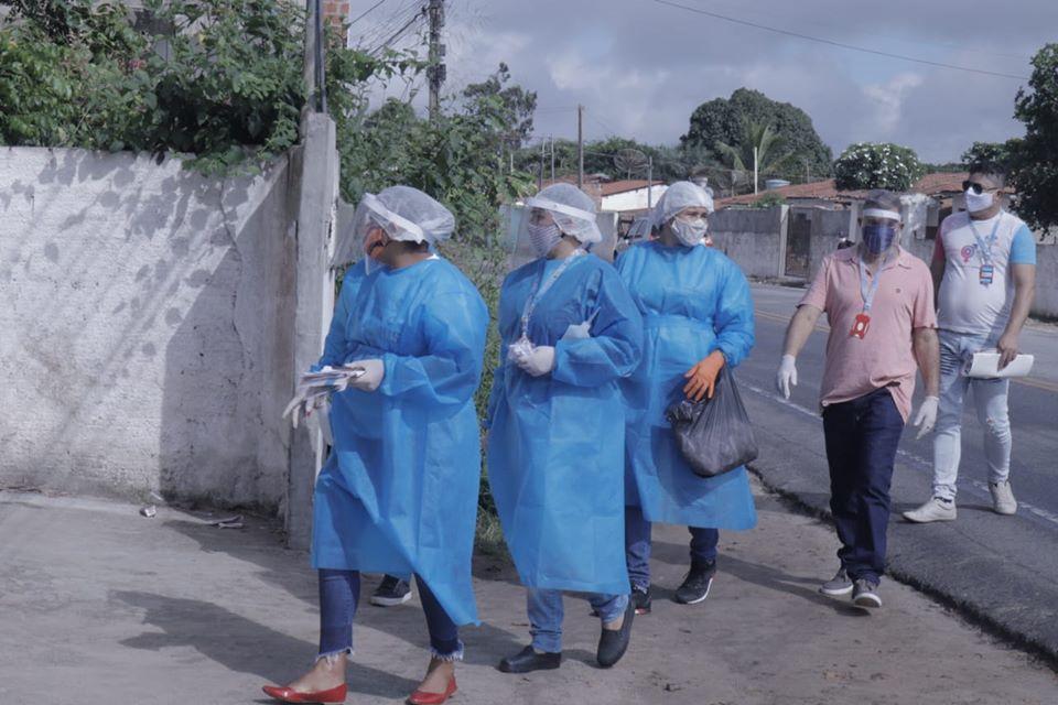Ações de desinfecção em Campo de Angola e Grotão.