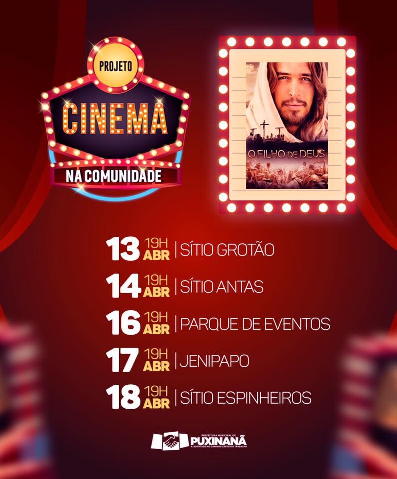 PROJETO CINEMA NA COMUNIDADE.