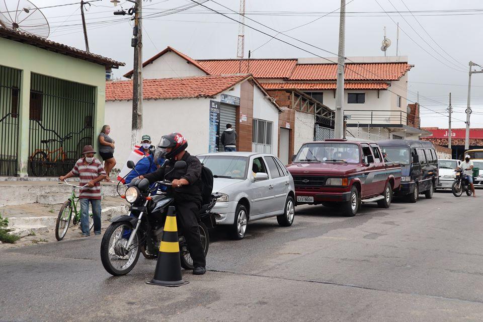 AÇÃO DE DESINFECÇÃO REALIZADA HOJE 18/05, EM PUXINANÃ.